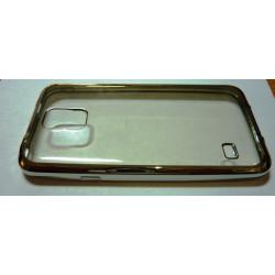 Husa silicon cu margini colorate Samsung Galaxy S5/ i9600/ g900